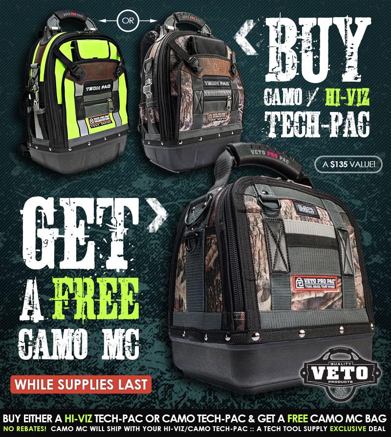 FREE Veto Pro Pac Camo MC